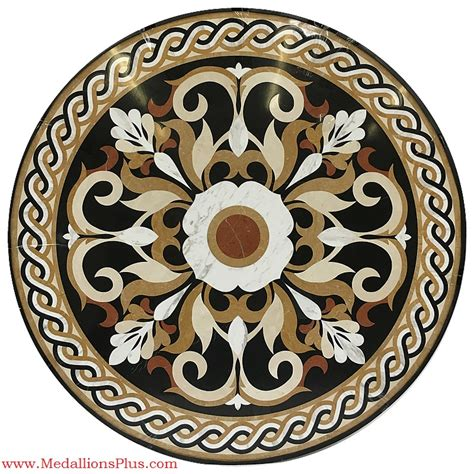 marble medallions for floors marseille 48 quot stone floor medallion medallionsplus com floor medallions on sale tile