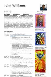 Examples Of Good And Bad Cvs Fine Arts Graduate Assistant Resume Example Artist Cv
