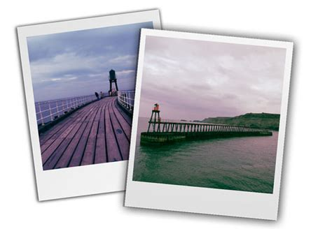 create a polaroid effect with your
