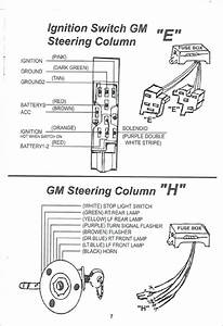 Chevrolet Ignition Switch Wiring Diagram