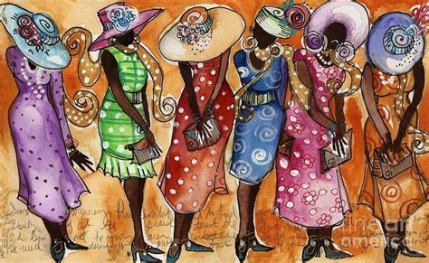 big hat brunch invitations paintings of in hats church hats painting by