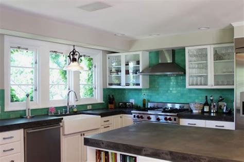 turquoise tile backsplash 30 successful exles of how to add subway tiles in your