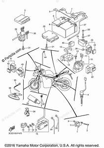 Yamaha Motorcycle 2007 Oem Parts Diagram For Electrical