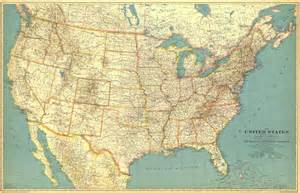 Us Map of the United States of America