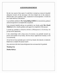 writing dissertation acknowledgements With acknowledgement dissertation template