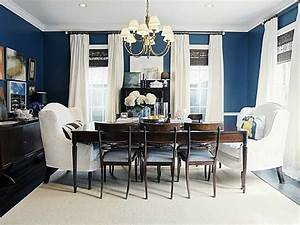 beautiful interior to decorate dining room with navy room With how to decorate blue dining room