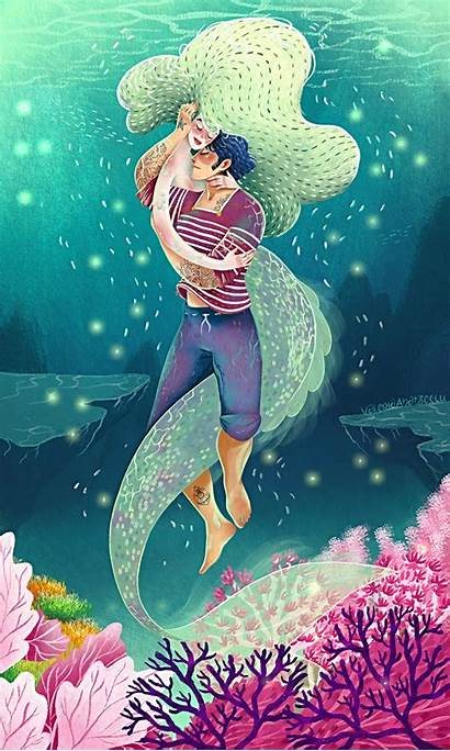 Mermaid Sailor Behance Project