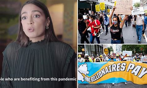 AOC ramps up her crusade on billionaires by backing tax on ...