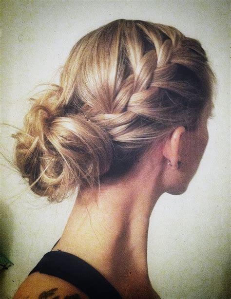 hair in a bun styles bun braids or both 18 wedding hair ideas to help you 4329