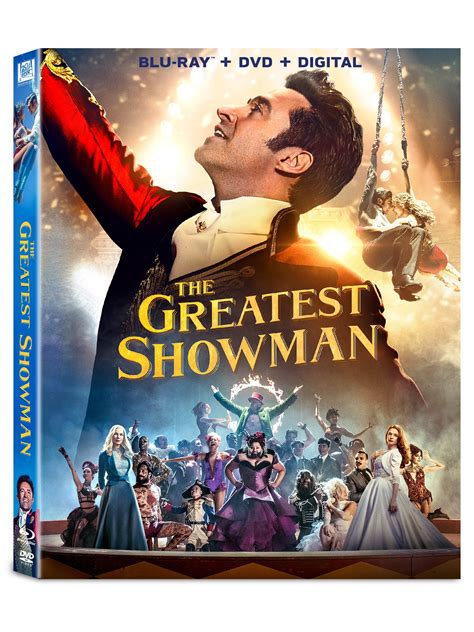 The film is directed by michael gracey and written by jenny bicks, and bill condon. The Greatest Showman Blu-ray