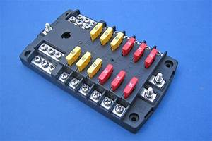 12 Way Fused Distribution Board