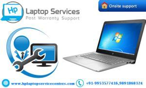hp laptop service center  lucknow hp post warranty
