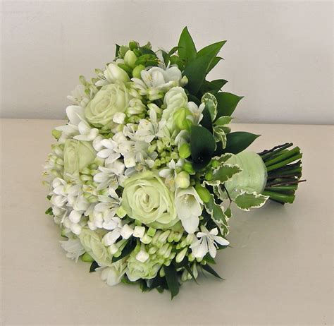 Wedding Flowers by Wedding Flowers Alison S Pale Green And White