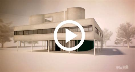 illustrative video  villa savoye explains le corbusiers