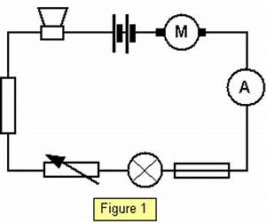 schoolphysics welcome With circuit shows a cell a lamp and an ammeter the ammeter is connected
