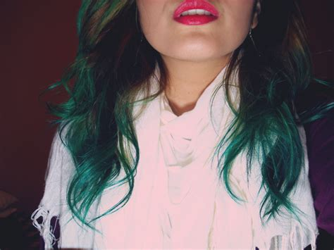 Real Stunner My New Bluegreen Ombre Hair Ombre Hair