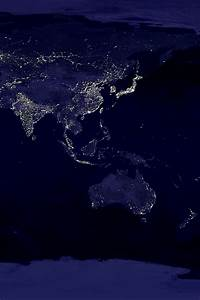 Japan at Night NASA - Pics about space