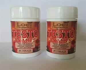 2 X 60 Strongest Xtreme Anabolic Max Legal Testosterone Booster Mass Gains Pill