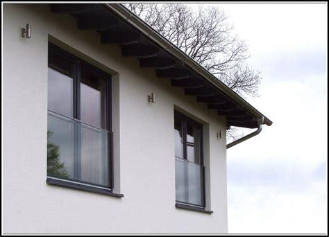franzoesische balkone glas balkon hause dekoration
