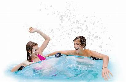 Vacation Clipart Transparent Waterpark Swimming Pool River