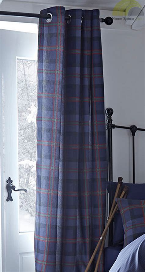 navy blue tartan quilt duvet cover bed sets or curtains or