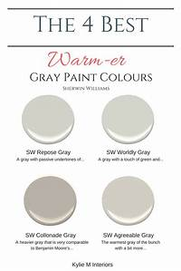 warm grey paint color The 4 Best Warm Gray Paint Colours: Sherwin Williams