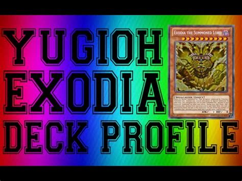 Exodia Deck List 2016 by Yugioh Best 2016 Exodia Deck Profile New Cards
