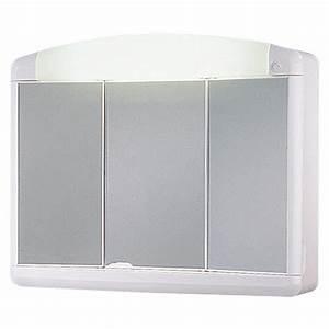 Spiegelschrank 3 Türig Mit Beleuchtung : jokey spiegelschrank max 3 t rig kunststoff mit beleuchtung energieeffizienzklasse a bis b ~ Bigdaddyawards.com Haus und Dekorationen