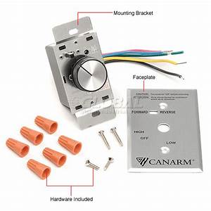 Canarm Exhaust Fan Wiring Diagram