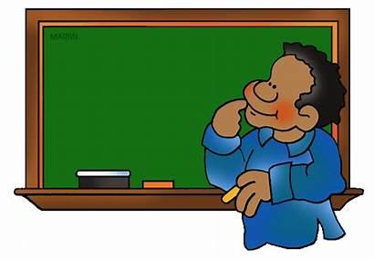Clipart Blackboard Board Chalkboard Clip Chalk Student