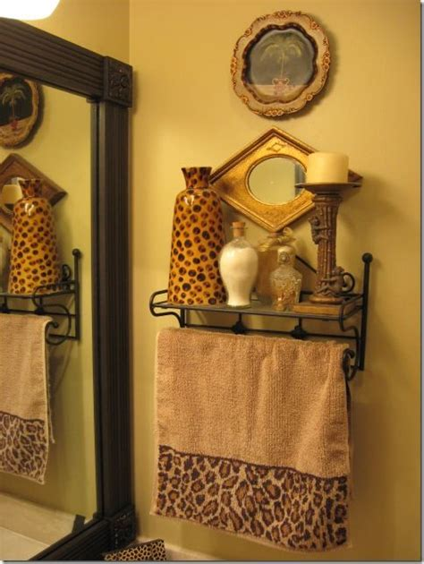 print bathroom ideas 17 best images about leopard golden bathroom on