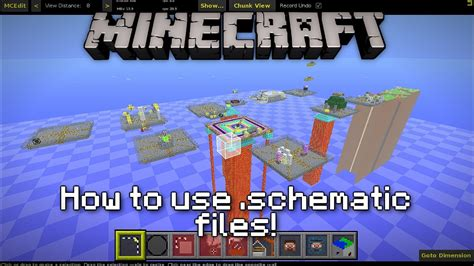 How To Use A Red Cushions In Decorating: Minecraft: How To Use .schematic Files
