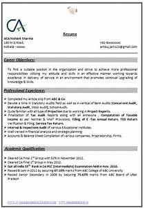 professional curriculum vitae resume template for all With ca resume