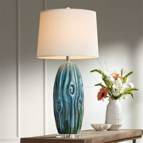 blue table lamps lamps
