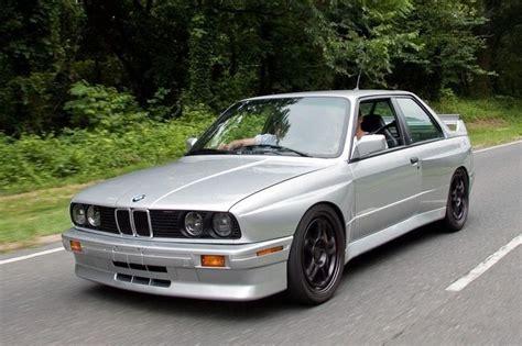 This 1989 Bmw E30 M3 Has A 5.7-liter V10 Under The Bonnet
