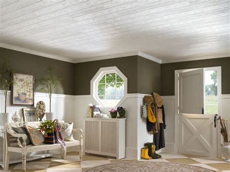 armstrong ceiling planks country classic plank homestyle ceilings wood paintable 6 quot x 48 quot plank 480 by armstrong
