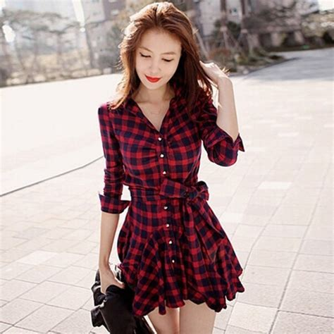 nuevo camisa de cuadros con larga 76 g3665ei32076 sjpeqqi camisas de traje hombre blusa vestido cuadros dama env 237 o gratis moda asia 399 00 en mercado libre