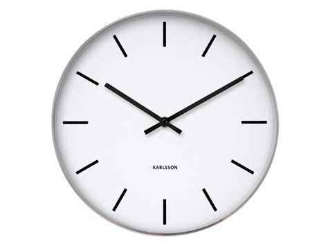 le bureau blanche horloge et blanche en métal kollori com