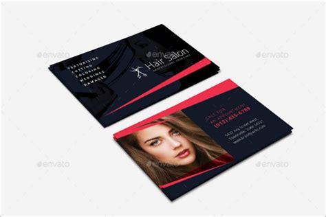 Hair Salon Business Card Template