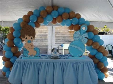 brown and baby blue baby shower decorations decorations rental miami