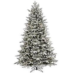 7ft Pre Lit Pop Up Christmas Tree by Shop Ge 7 5 Ft Pre Lit Alaskan Fir Flocked Artificial