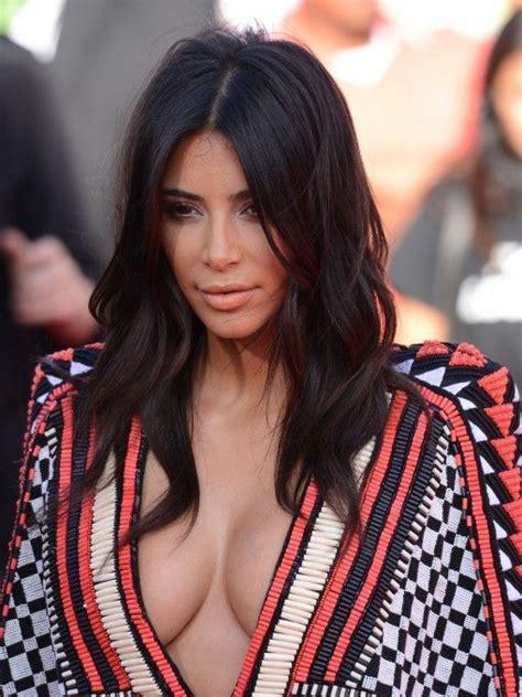 kim kardashian hairstyles  springtime glam radar