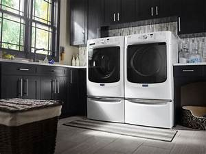 Maytag Mhw3505fw 27 Inch 4 3 Cu  Ft  Front Load Washer