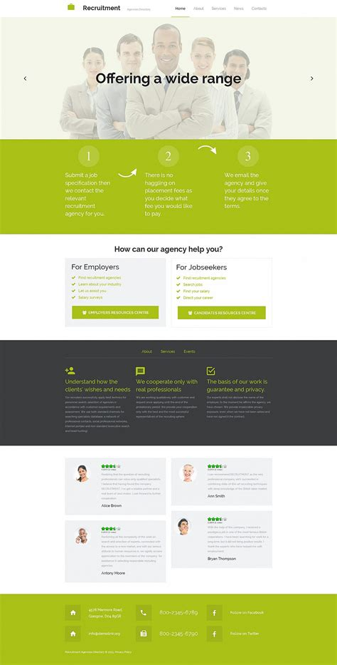 cms template portal website builder responsive moto cms 3 template 55391