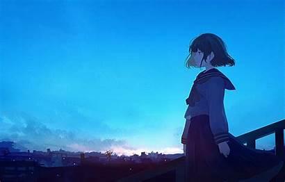 Waifu Anime Director Sky Wallpapers 4k Hair