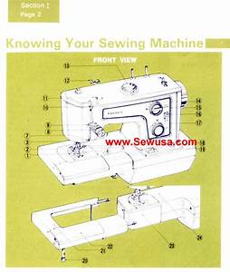 Kenmore Model 1560 Sewing Machine Instruction Manual