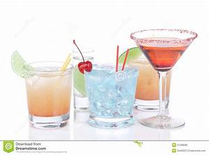 Different Types Of Cocktails Royalty Free Stock Image ...