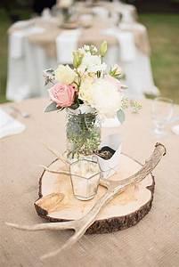 Table Mariage Champetre : mariage champ tre centre de table et si on organisait un ~ Melissatoandfro.com Idées de Décoration