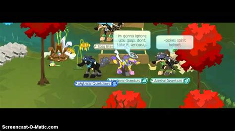 animal jam join riverclan rules camp  youtube
