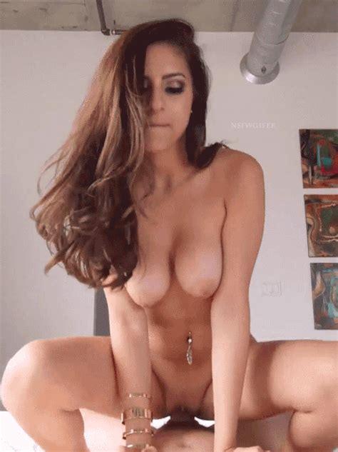 Hot Cowgirl Brunette Latina Riding Dick Hot Girlfriend